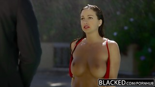 BLACKED First-ever Multiracial For Sport Model Abigail Mac
