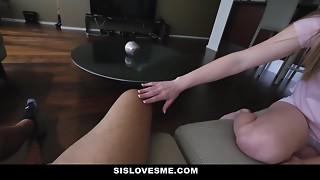 SisLovesMe - Angelic Step-Sis is A Crazy Mega-bitch