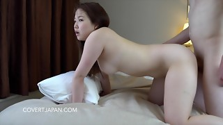 Asian Model Yukina - Very first Time with Milky Stud