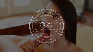 GONEWILD AUDIO #1 - Listen to my voice and spunk for me, Deepthroat... [JOI]