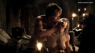Esmé Bianco - Explicit Doggie-style Romp Scene, Huge Knockers - Game Of Thrones