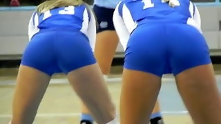 Extraordinaire Bums AND CAMELTOES (TEENS VOLLEYBALL PLAYERS)