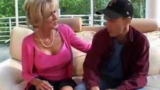 platinum-blonde mature and youthfull fellow part1 by jackass