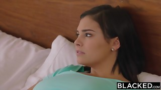 BLACKED Latina Tears up Her Boyfriends Roomie