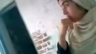 Paki Hijab Mega-bitch Lahore plowed and conversing after