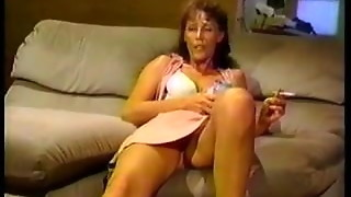 Perv Perspiring Grandmother Super-bitch Group-fucked