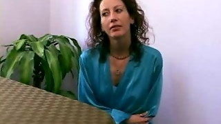 Cougar Gets Torn up In Kitchen - Mature hook-up movie