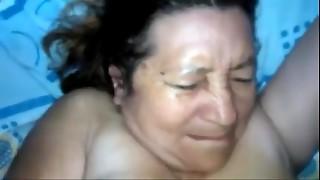 Suegra cojida por el bootie