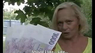 Sometimes, Money Converses #4 (Busty Ash-blonde Grandma GILF!)