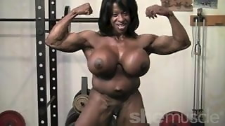 Black Girl Muscle