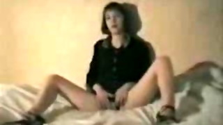 Unsighted Folded Wifey Takes 2 Big black cock