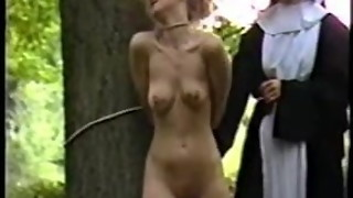 2 nuns penalize and abase a youthfull gal