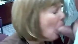 Mature Head #71 (Two videos of the Office Breezy doing her Job)