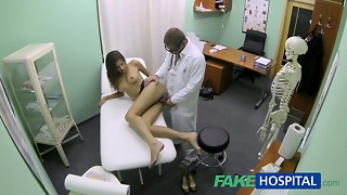 FakeHospital Warm doll with phat melons gets doctors approach