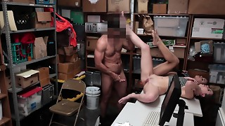 Shoplyfter- Nubile Thieves Blow Manstick and Get Torn up