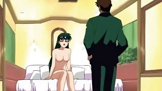 Big-chested manga porn stunner has super-naughty romp