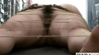 Bizarre weird hefty nude Chinese dame plaything injection