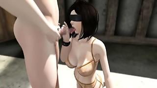 Wifey Prisoner Gohoushi Fuck-fest vol.1 - Epic Three dimensional anime porn adult
