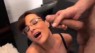 Irresistible Lisa Ann hard-core shag with her nasty chief