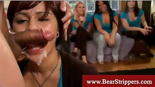 Bachelorettes get seduced by a dancing teddy