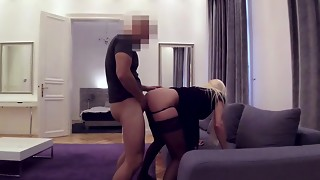 Fit Call girl Loves Customer Boinking In Her The Rump