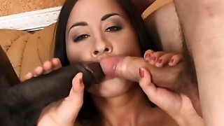 Doll has rods pounding her butt hole dual