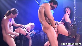 Hillary Scott and Tory Lane in a crazy four way with anal invasion