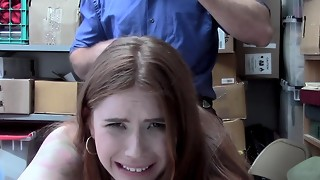 ShopLyfter - Nubile Caught Stealing Coaxes Officer With Fuck-fest
