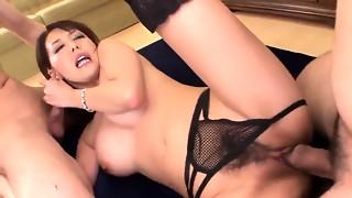Akari Asagiri incredible cougar fuckfest - More at 69avs.com