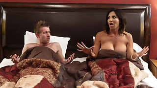 Tara Holiday & Danny D in Overnight With Stepmom: Part 1 - Brazzers