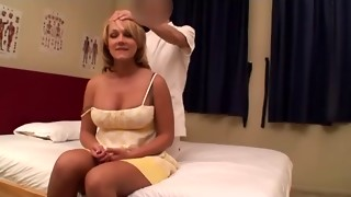 Non-Professional Golden-Haired Wifey Rubdown (PTS-162) Episode 4