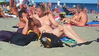 hidden cam swinger beach hump