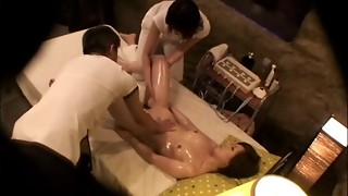 In chicks who came to receive grease massage, hame te spunk-pump is free Thai in a trap.