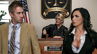 Nikki Benz & Danny D in ZZ Courthouse: Part 2 - Brazzers