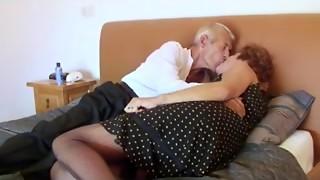Fishnet Grandma Copulates Grandfather