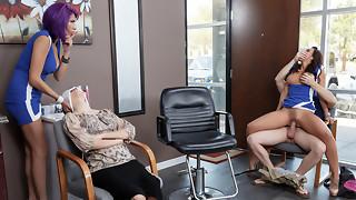 Rachel Starr & Preston Parker in Rachel Lets Her Hair Down - Brazzers