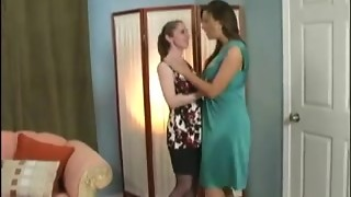 Wicked Lesbian bi-otches in super-naughty Domination & submission game