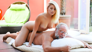 Aria Logan & Albert in Granddad Got Me Moist - 21Sextreme