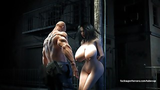 Humungous titties, cock-squeezing pussy, bad guys, batman, juices pies - hell yeah