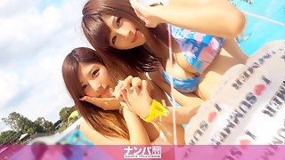 Pool Nampa 01 in Nerima Asumi 22-year-old part-time job Nagisa 20-year-old school schoolgirl