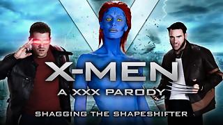 Nicole Aniston & Charles Dera & Xander Corvus in XXX-Men: Shagging the Shapeshifter Gonzo Parody - Brazzers