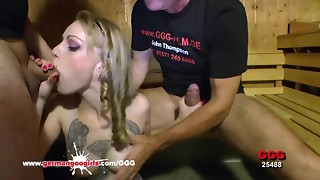 Lil' Meli's Extraordinary Group sex - German Goo Ladies