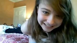 2 teenage bitches posing on web cam
