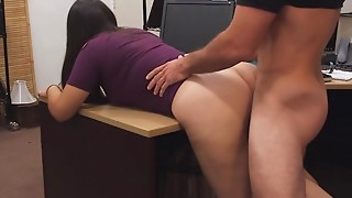 Nerdy Mummy Gets Firm Poking And Facial cumshot For Stealing