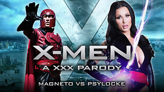 Patty Michova & Danny D in XXX-Men: Psylocke vs Magneto Gonzo Parody - Brazzers